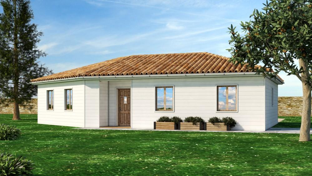 MAISON A VENDRE PROGRAMME NEUF ! Périgord Maisons Bois # Maison Bois Dordogne