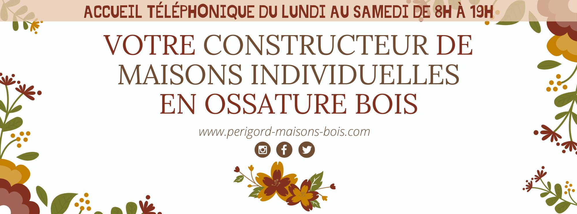 printemps constructeur de maisons individuelles périgord maisons bois