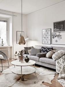 salon-scandinave-motif-geometrique-maisons-aliénor-périgord-constructeur-maisons-individuelles
